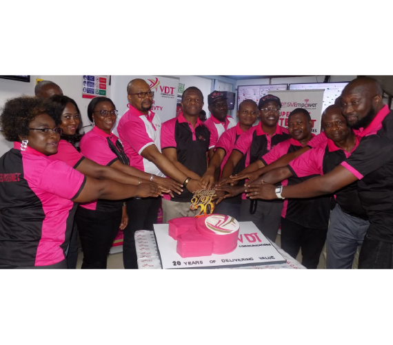VDT gives long-term service awards to employees at 20th Year Anniversary